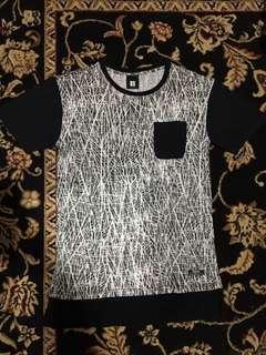 Long line T-shirt INSIGHT 100%original