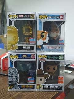 Funko Pop 2018 Convention Pops