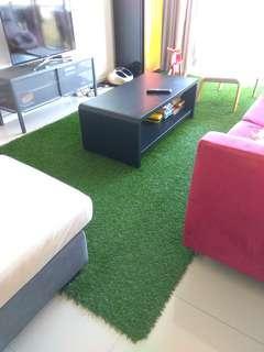 ARTIFICIAL CARPET GRASS INDOOR OR OUTDOOR GREEN