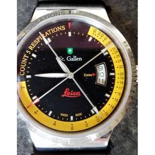 BRAND NEW - Leica camera - Special Commemorative Edition - Swiss Luxury Watch - St. Gallen