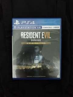 PS4 Resident Evil 7 (Gold Edition)