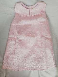 Preloved Birds & Bees Dress in Pink