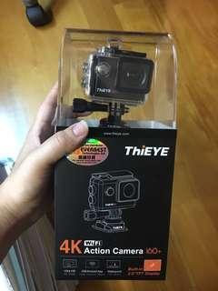 ThiEYE i60+ action cam 全新包配件 運動相機 支援4K wifi