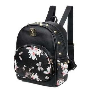 Korean flora backpack