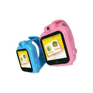 Free Delivery: BNIB Multi Functions Touch Screen Children Smart Watch with GPS+WiFi+LBS+APGS Location Tracking, SOS, Alarm, Watch and Camera