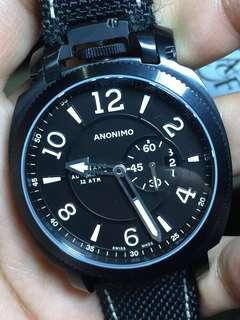 PRICED TO CLEAR:RM3,100.00. Anonimo Militare DLC Automatic Italian Made Watch