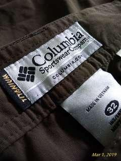 Hiking pant Columbia titanium