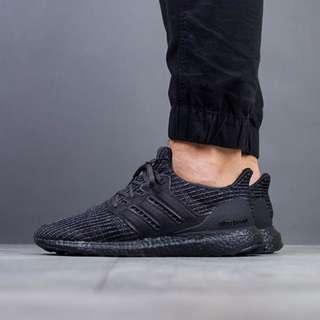 🚚 Adidas Originals Ultra Boost 4.0 Triple Black