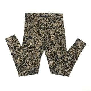 Forever 21 Batik / Paisley Design Leggings