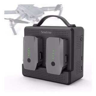 🚚 FREE Delivery !!! Smatree SP180 Power Station for DJI Mavic Pro & Platinum,Parallel Charging 2 Batteries, Equals 3-5 Mavic Batteries Before Recharging