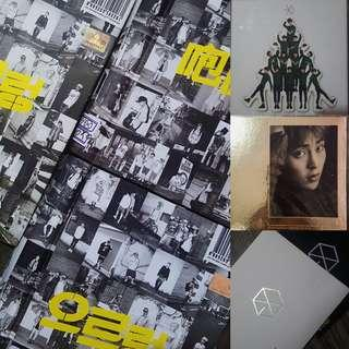 WTS & CLEARANCE EXO ALBUMS FROM $3!