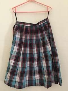 Skirts Kotak-kotak