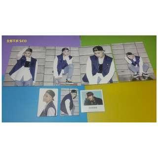 SHINee 泰民 taemin 官方 周邊 小卡 貼紙 卡貼  明信片 照片 寫真