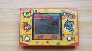 Faulty Roask Tom & Jerry Prank Handheld Video game Gekken Japan 1983