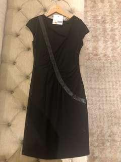 BNWT George Black Dress Size 10