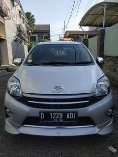 Toyota Agya g trd MT 2015 silver