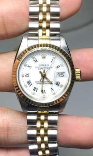 Rolex Datejust 69173 diamond dial