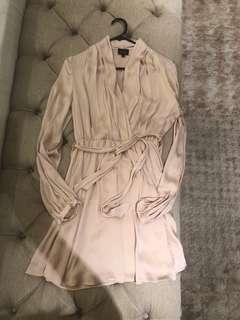 Bardot Pale Shimmery Pink Dress Size 6