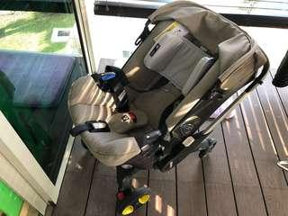 Doona + baby car seat
