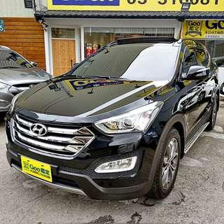 2015年 Hyundai Santa Fe 2.2柴油 2WD最頂級