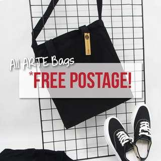 PROMO | ARTE Canvas Bag FREE Postage / Mailing!