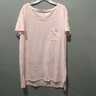 Kaos old navy soft pink