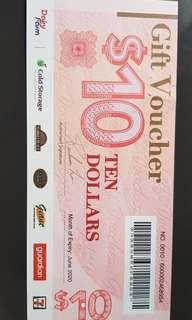 🚚 $10 Dairy Farm voucher for 10mins survey