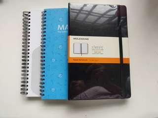 🚚 Moleskine Ruled Notebook