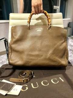 Gucci Shopper Bamboo Handle