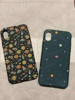 iPhone X  space hardcase