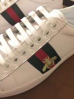 Bee sneakers...100% Lambskin leather...see all pics
