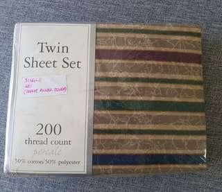 Twin Sheet Set for Single Bed 36x75