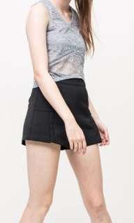🚚 High Waist Shorts in Black (XS)