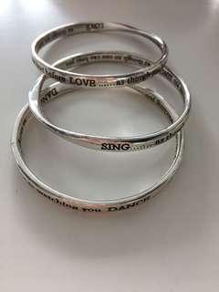Set of bracelets!!