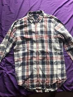 Zara Man flannel