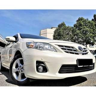 Toyota Altis 1.8 (A) Dual VVTI 2011