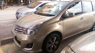 nissan livina 1.8 auto 2012