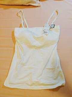 🚚 [全新未剪牌]Uniqlo Bra Top 可拆肩帶 白色M號