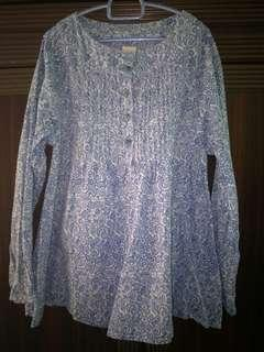 Original O'Kayce Girl Blouse (Blue)