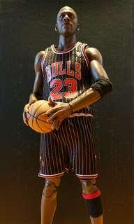 1996 Chicago Bulls Michael Jordan Black Jersey (1/6) Custom 合 Enterbay , Storm Toys