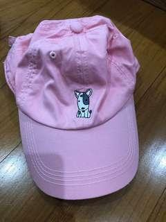 Topi Pink Doggy