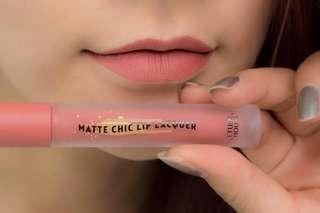 Etude Houde Matte Chic Lip Lacquer in Peach Beige