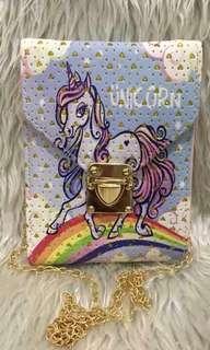 Unicorn Sling Bag For Kids