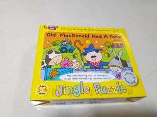 Puzzle with Cd