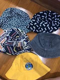 Bucket Hat ALL 5 pcs