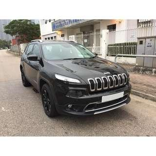 JEEP   CHEROKEE LIMITED 2.4 4WD   2015