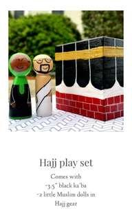 🚚 Wooden dolls hajj set