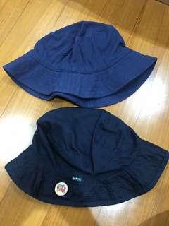 Bucket Hat Blue Navy ALL 2 pcs