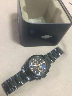 🚚 Fossil perfect boyfriend multifunction dual time