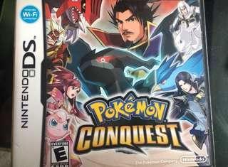 Pokémon conquest DS
